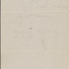 "Hawthorne, Elizabeth M., ALS to. [n.d.] (""The east wind makes..."")"