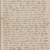 Hawthorne, Julian, ALS to. Jan. 22-30, 1856.