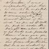 Hawthorne, Julian, ALS to. Aug. 18, 1862.