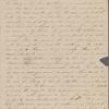 Hawthorne, Maria Louisa, ALS to, with postscript by Nathaniel Hawthorne. Jan. 4, 1843.
