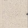 Hawthorne, Maria Louisa, ALS to. Oct. 26, 1843.