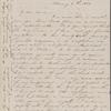 Hawthorne, Maria Louisa, ALS to. Feb. 4, 1844.