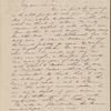 Hawthorne, Maria Louisa, ALS to, with postscript by Nathaniel Hawthorne. May 8, 1844.