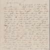 Hawthorne, Maria Louisa, ALS to, with postscript by Nathaniel Hawthorne. Aug. 4, 1844.