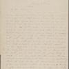 Hawthorne, Maria Louisa, ALS to. Jan. 18, 1844 [i.e. 1845].