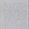 Hawthorne, Maria Louisa, ALS to. May 3, 1846.
