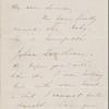 Hawthorne, Maria Louisa, ALS to. [1846].