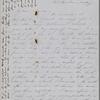 Hawthorne, Maria Louisa, ALS to, with postscript by Nathaniel Hawthorne. Dec. 1, 1851.
