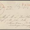 Hawthorne, Maria Louisa, ALS to. Jul. 17, 1852.