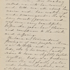 Hawthorne, Nathaniel, AL to, incomplete. Jul. 3, [1859?].