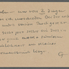 Stefan George letters to Ernst Morwitz, 1920