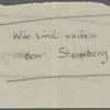 Stefan George letters to Ernst Morwitz, 1921