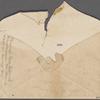 Miscellaneous manuscript material: letter scraps (Cuba journal); envelopes; death of a son