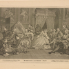 Marriage A-La-Mode.  Plate IV.  [The Toilet Scene]