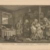 Marriage A-La-Mode.  Plate VI. [The Death of the Countess]