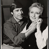 Publicity photo of Richard Caine and Celeste Holm in the touring stage production Butterflies Are Free