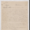 """2 Letters concerning the """"Peters affair"""""""