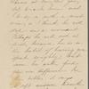 Hawthorne, Una, ALS to. [1852]