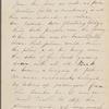 Hawthorne, Una, AL (incomplete) to. [May 26, 1857].