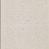 Hawthorne, Una, AL (incomplete) to. Friday eve, [1863].