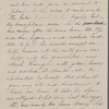 Hawthorne, Una, ALS to. Jun. 21, 1865.