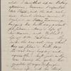 Hawthorne, Una, ALS to. Jun. 26, 1865.