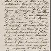 Hawthorne, Una, AL (incomplete) to. Dec. 31, 1865.