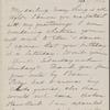 Hawthorne, Una, ALS to. Feb. 17, 1866.