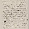 Hawthorne, Una, ALS to. Sep. 13, 1866.