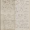 Hawthorne, Una, ALS to. Oct. 14, 1866.