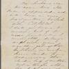 Hawthorne, Una, AL to. [1866].