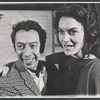 Gene Trobnic and Marian Seldes in rehearsal for the stage production Before You Go