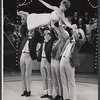 Guest hostess Florence Henderson and dancers performing on the August 11, 1964 episode of the TV variety series The Bell Telephone Hour