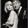 Jill Haworth and Jack Gilford in the stage production Cabaret