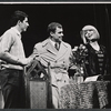 Bert Convy, Edward Winter and Jill Haworth in the stage production Cabaret