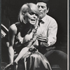 Jill Haworth and Bert Convy in the stage production Cabaret