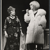 Lotte Lenya and Jill Haworth in the stage production Cabaret