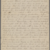 """Notes, an extract from Roman Journal, """"Reflections on M[argaret] Fuller [Ossoli]"""". Nathaniel Hawthorne in hand of SAPH."""