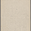 """Notes on Solomon's temple. Holograph, unsigned, undated [note """"after 1864""""]."""