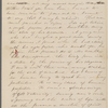 [Mann], Mary Tyler Peabody, AL (incomplete) to. Aug. 13, [1826].