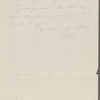 [Mann], [Mary Tyler Peabody], ALS to. [1827?].