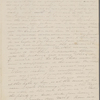 [Mann], Mary [Tyler Peabody], AL (incomplete) to. Jan. 25, [1828].