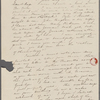 [Mann], Mary T[yler] Peabody, ALS to. [182-].