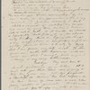 [Mann], Mary T[yler] Peabody, AL (incomplete) to. [1831?]