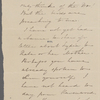 [Mann], Mary T[yler] Peabody, ALS to. [1831?]