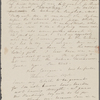 [Mann], Mary T[yler] Peabody, ALS to. Jan. [8-] 9, [1832?]