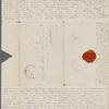 [Mann], Mary T[yler] Peabody, ALS to. Jul. 28, 1832.