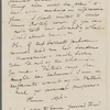 [Mann], Mary T[yler] Peabody, ALS to. [1832?]