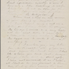 [Mann], Mary T[yler] Peabody, ALS to. May 16, 1833.