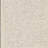 [Mann], Mary [Tyler Peabody], AL to. Aug. 7, [1833].